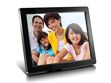 Amazoncom Aluratek Admpf512f 12 Hi Res Digital Photo Frame