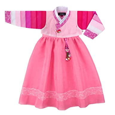 07f69e0de098 Korean Beautiful Girl's Traditional Clothing Hanbok Dress Baby Girl Clothes  Birthday New Year Party Event Gaw