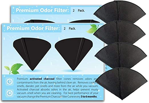 GV 48 New Cones//4 Filters for Filter Queen Vacuum Cleaner