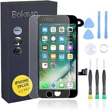 Bokman LCD Pantalla para iPhone 7 Plus Reemplazo de Pantalla LCD ...