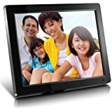 """Aluratek (ADMPF512F) 12"""" Hi-Res Digital Photo Frame with 4GB Built-In Memory and Remote (800 x 600 Resolution), Photo/Music/V"""