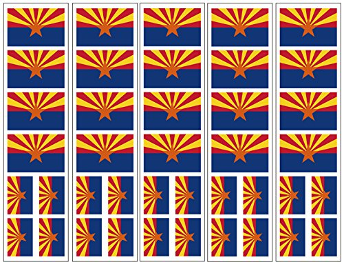 40 Tattoos: Arizona State Flag, Party Favors
