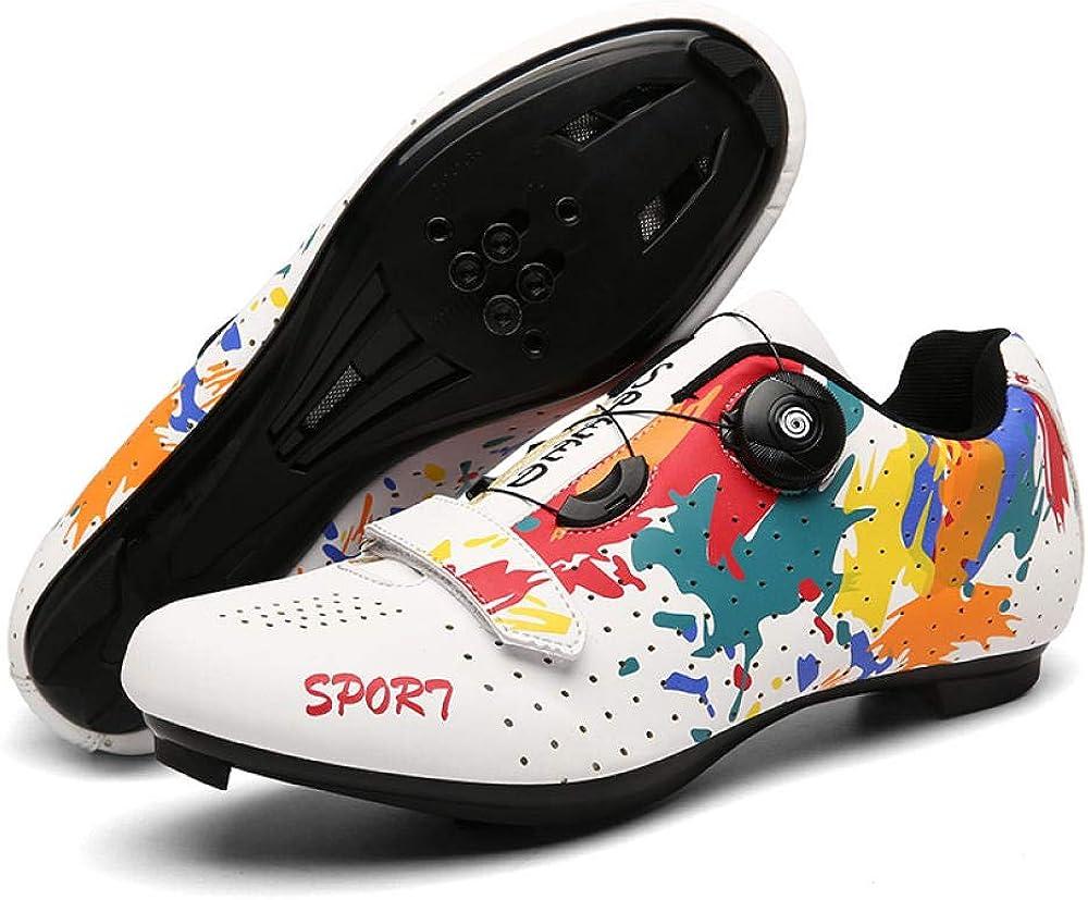 Amazon.com | JINGPINPUZI 2020 New Cycling Shoes with Lock, Lock Shoes for  Men and Women, Road Bike Power-Assisted Shoes, Mountain Biking Graffiti Mens  Cycling Shoes | Cycling