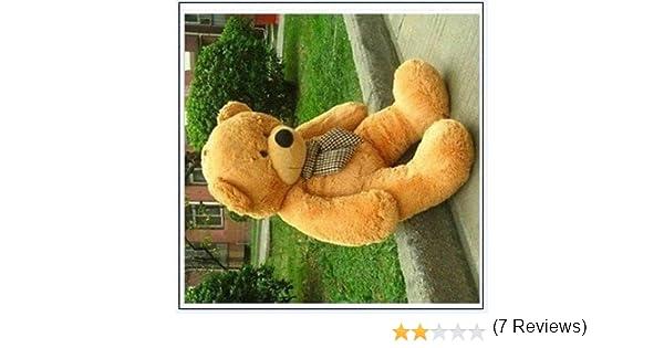 Dis gigante enorme de peluche Animales de peluche oso de peluche muñeca de juguete oso de peluche perro: Amazon.es: Jardín