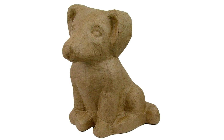 Craft Ped Paper CPL1009920 Mache Dog Sitting Kraft