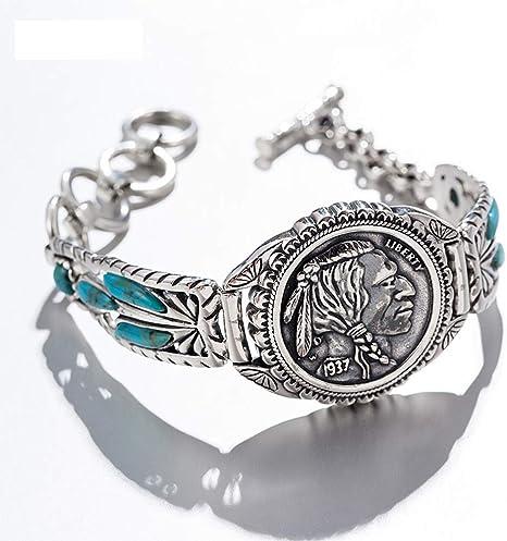 Eqerlian Bracelet Style Indien Turquoise Bracelet Bijoux