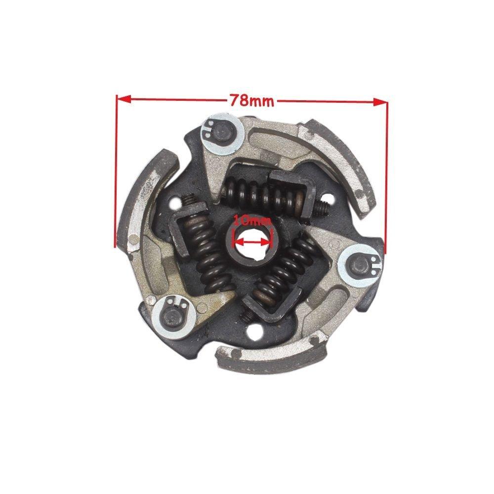 Alas de embrague 9 cc refrigerado por agua del motor MT A4 Blata estilo C2 Mini Moto Pocket Bike: Amazon.es: Coche y moto