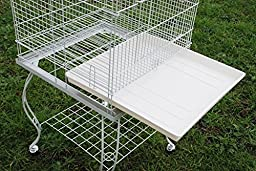 Brand New Open Play Top Parrot Bird Cage With Removable Stand 20x20x58H by Mcage
