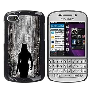 All Phone Most Case / Oferta Especial Duro Teléfono Inteligente PC Cáscara Funda Cubierta de proteccion Caso / Hard Case BlackBerry Q10 // Cat Woman City