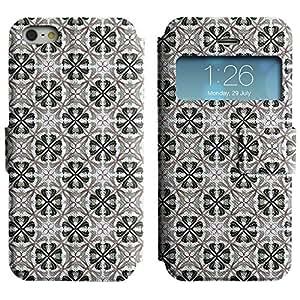 LEOCASE animal lindo Funda Carcasa Cuero Tapa Case Para Apple iPhone 5 / 5S No.1006472