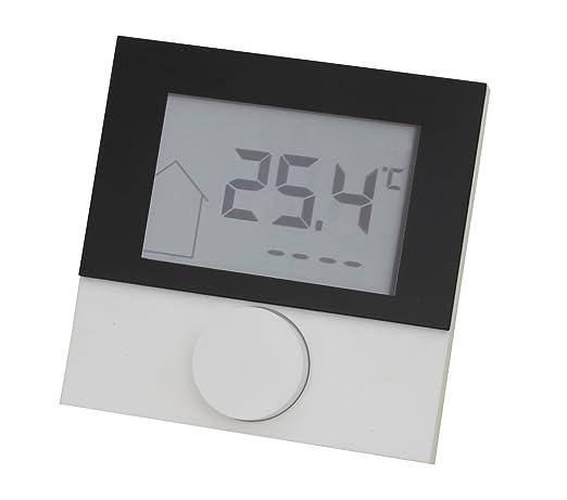 LCD Alpha directa 230 V con diseño panel habitación termostato para calefacción por suelo radiante