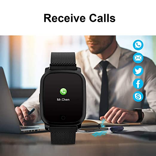 Amazon.com: TPW Reloj Inteligente Bluetooth Reloj Deportivo ...