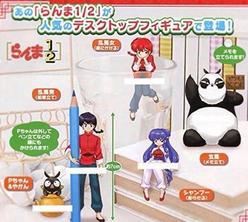 Ranma 1//2 Desk Top Pvc Figure~Saotome Genma~55mm