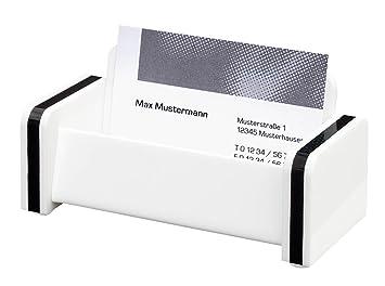 Wedo 600900 Schreibtisch Accessoires Serie Montego Aus Acrylglas Komplett Set 9 Teilig Weiß Schwarz