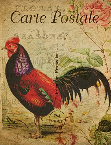 Home Comforts LAMINATED POSTER Vintage French Chicken Postca