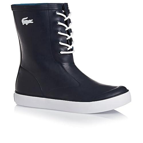 e9339f77ab8 Lacoste Bottes en Caoutchouc Poerio pour Femme en Bleu  Amazon.fr   Chaussures et Sacs