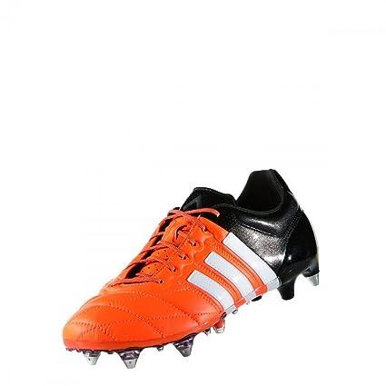 adidas ACE 15.1 SG Leather orange rot schwarz: