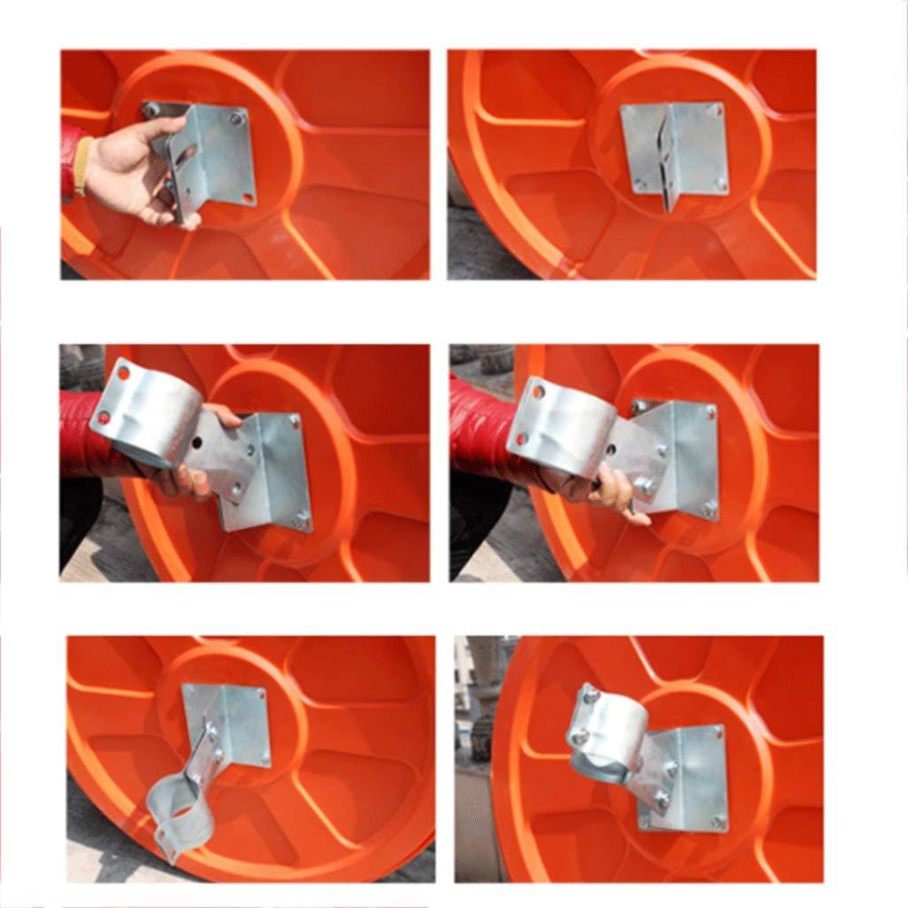 The Parking Shop Driveway Safety Mirrors ✊GJJ-Convex Polycarbonate Traffic Mirror Diameter 60cm Blind Spot Mirrors Size : 45CM