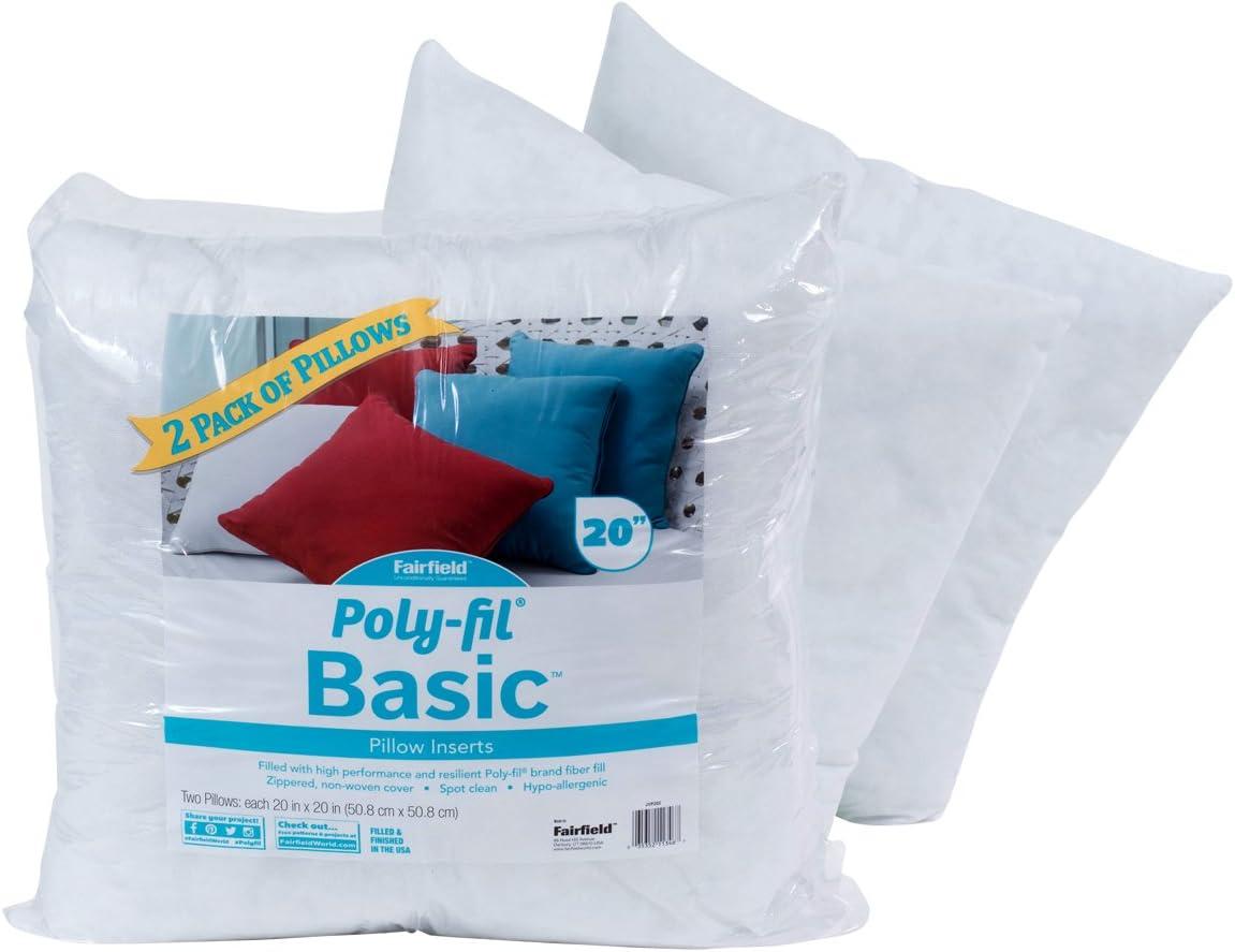 20 lb Fairfield The Original Poly-Fil Premium Box White Pack 1