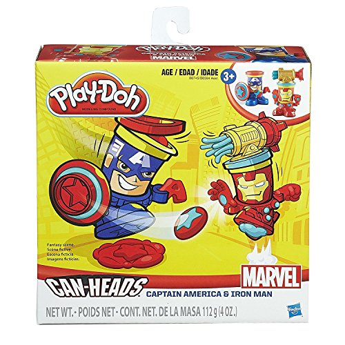 Play-Doh Can-Heads 2 Pack -