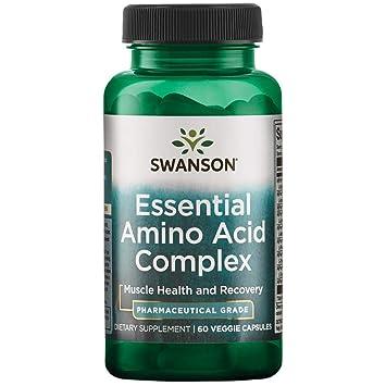 Amazon.com: Swanson ajipure 9 Essential Aminos Fórmula, 60 ...