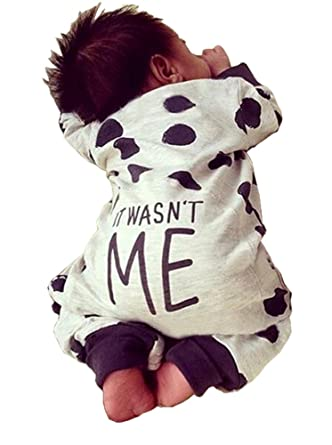 Newborn Baby Boy Girl Warm Long Sleeve Romper Outfits Jumpsuit