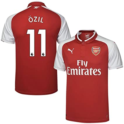 online store d69b0 7cccf Amazon.com : Arsenal Home Özil Jersey 2017/2018 (Authentic ...