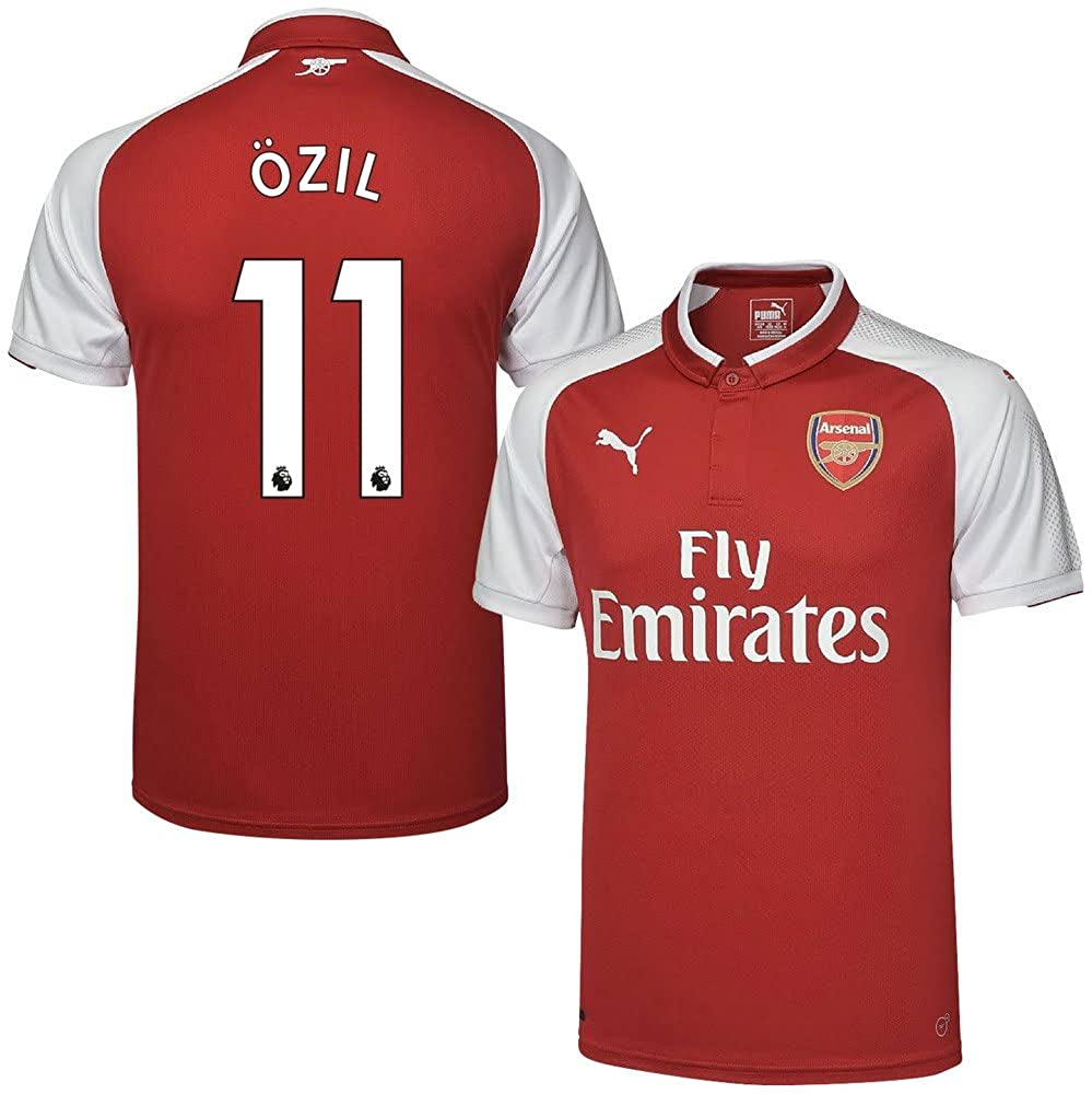 Arsenal Home Trikot 2017 2018 + Özil 11