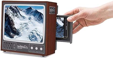 WUYEA Teléfono móvil Pantalla HD Amplificador Retro Pequeño TV ...