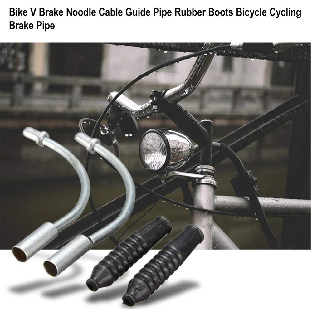 BICYCLE BIKE V BRAKE NOODLE RUBBER BRAKE CABLE BOOT TW