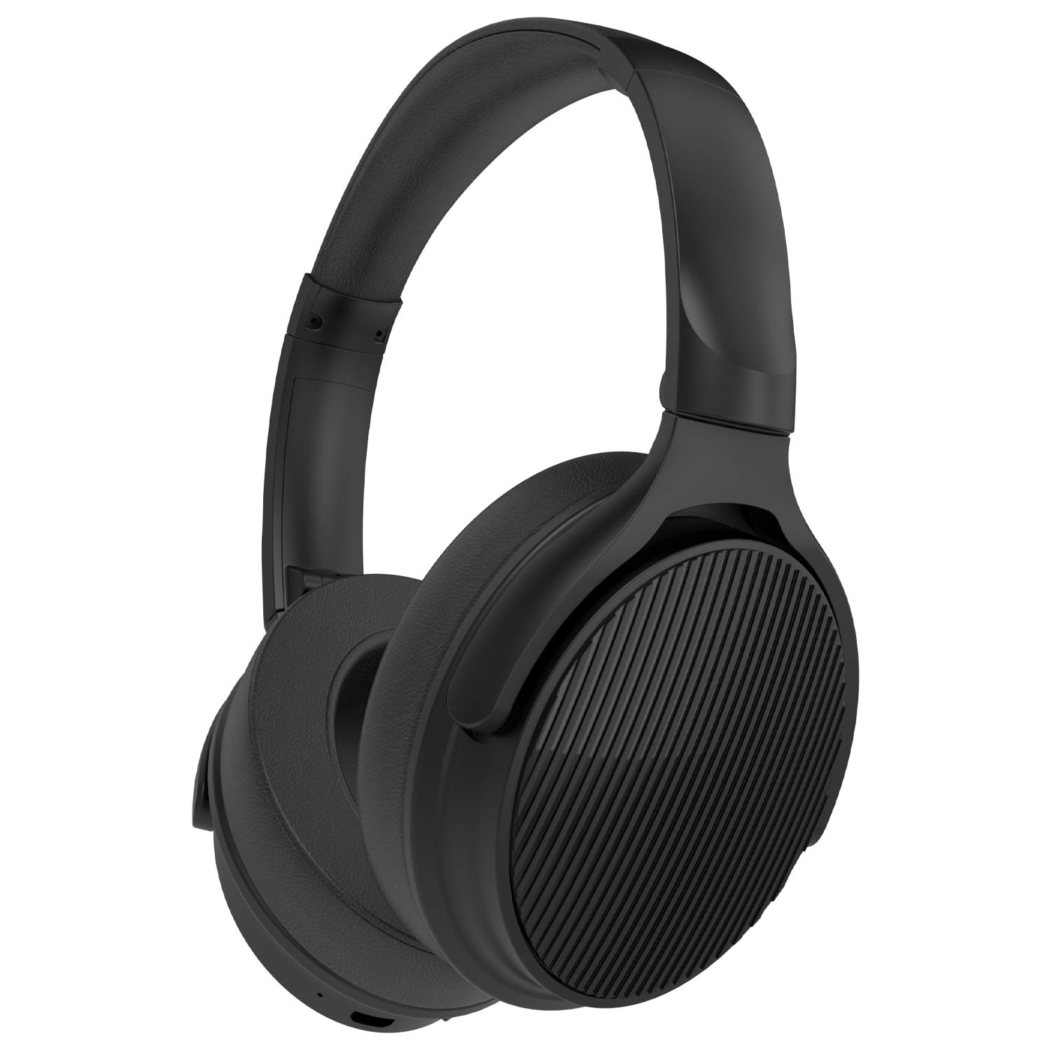 Betron EMR90 Wireless Bluetooth Headphones, Foldable, Over Ear, with Microphone, Strong Bass Driven Sound. Light Weight, Comfortable Earpads