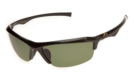 偏光サングラスAXE(アックス)ASP-5568GMガンメタリック 釣り運転サイクリング登山スポーツ グリーンイエロー2色の偏光レンズ交換モデルの画像