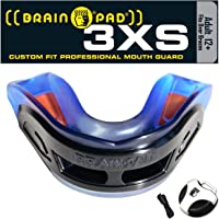 Brain-Pad 3XS Triple Laminated Strap/Strapless Combo, Adult, Black/Blue