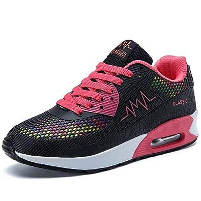 Amazon.com: No.66 TOWN Zapatillas de tenis para mujer ...