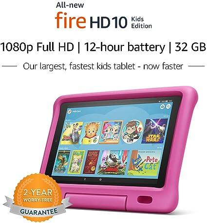 Amazon Com Fire Hd 10 Kids Edition Tablet 10 1 1080p Full Hd