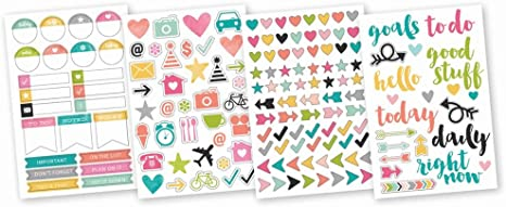 Simple Stories  Carpe Diem Icon Stickers