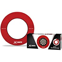 XQMAX Erwachsene Red Dartboard Surround, Rot, 1