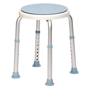 Drive DeVilbiss Healthcare Rotating Rounded Bath / Shower Stool ...
