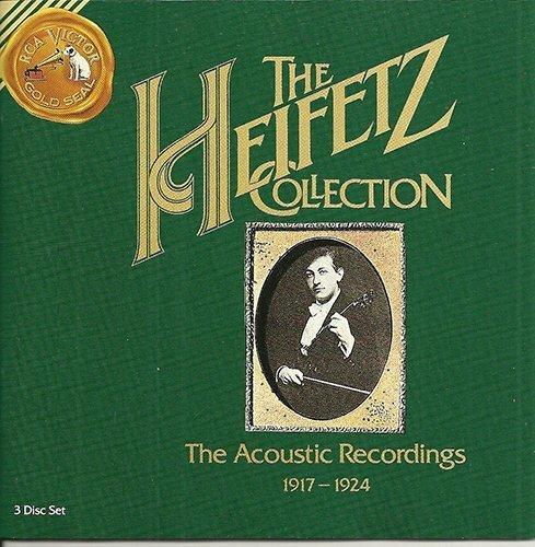 The Heifetz Collection - The Acoustic Recordings 1917-1924 by Heifetz, Jascha (1990-12-10)