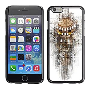 Jordan Colourful Shop - Opera Music Photo Rome For iPhone 6 Custom black plastic Case Cover