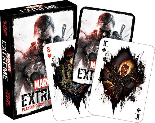 Marvel Extreme Playing Cards (Marvel Character Cards compare prices)