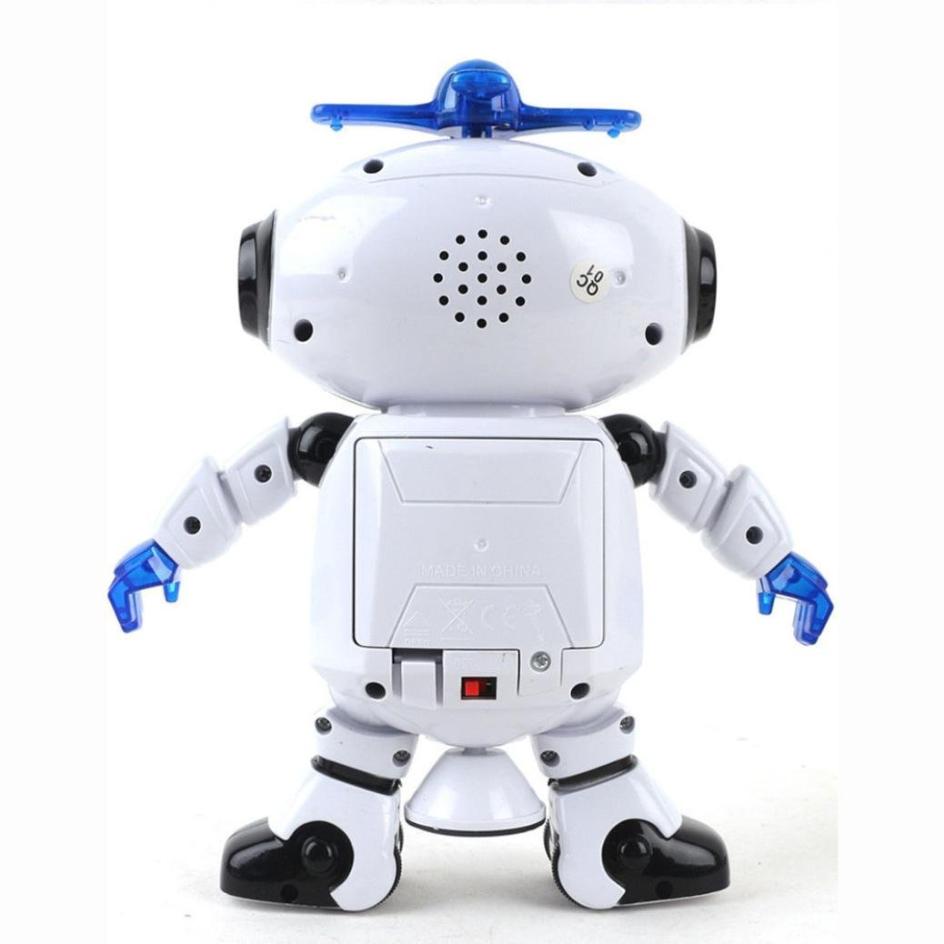 UKnows Smart Space Robot Electronic Walking Dancing Astronaut Kids Music Light Toys by UKnows (Image #5)