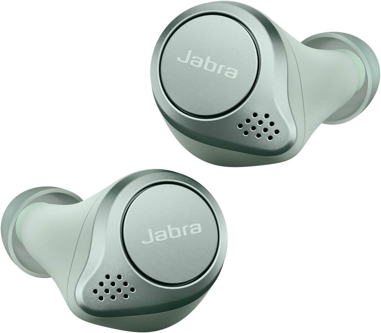 Jabra Elite 75t True Wireless Stereo In Ear Headphones Bluetooth 5 0 28 Hours Battery Life With Charging Case Sports Mint Elektronik