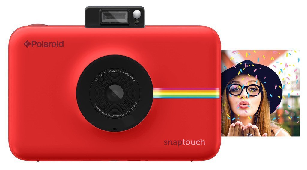 Polaroid Snap Touch Portable Instant Print Digital Camera with LCD Touchscreen Display (Black) POLSTB