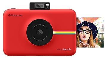Polaroid Snap Touch - Cámara digital con impresión instantánea y pantalla  LCD con tecnología Zero Zink 9e280abfa8