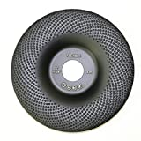 Flexible 5'' Diamond Cup Grinding Disc Wheel with RCD Newest Technology & Rubber Cushioned Body for Grinding & Polishing Universal Purpose (Flexible, 5'', 4.8 oz Very Light)
