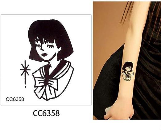 adgkitb 10 Piezas Tatuaje Temporal Pegatina Belleza Mujer patrón ...