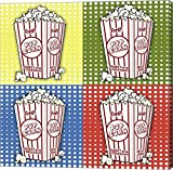 Popcorn Pop Art I by Jean Plout Canvas Art Wall Picture, Gallery Wrap, 37 x 37 inches