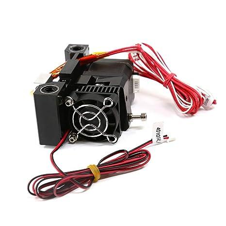 H.Y.FFYH Accesorios para impresoras MK8 Extrusora Cabeza 0.4mm ...