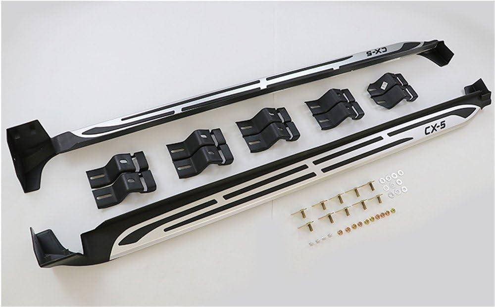 UDP 2 Pezzi Adatto per Mazda CX-5 CX5 2017 2018 2019 2020 Porta Fissa Running Boards Pedane Laterali Nerf Bar